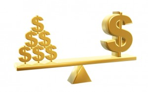 value of dollars