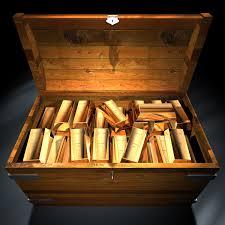 gold bullions in trunk