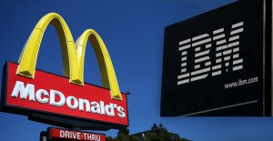 IBM vs McDonalds Stock