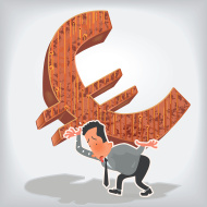 euro struggling