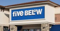 (John Greim/REX Shutterstock/Newscom) SMT0300-051916-newscom Five Below store, Mount Laural, New Jersey, USA